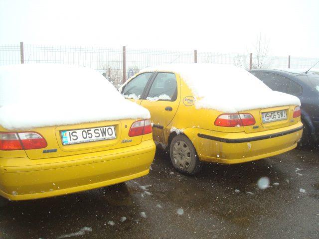 2 autoturisme Fiat Albea, benzină, 2005, Iasi